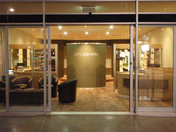 Retail Strategy made retail design for Groomen hair salon in Brisbane.